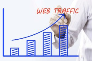 Increase Web Traffic Graphic