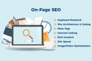 What is On-page optimization?